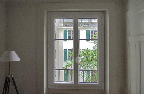 Fenetres des balcons a Genève