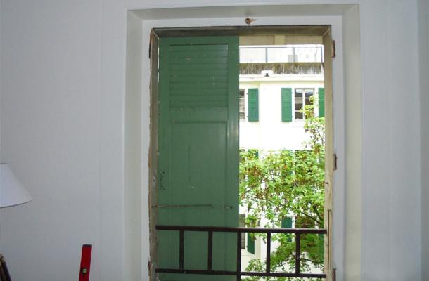 Fenetres des balcons